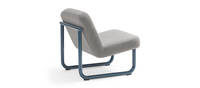 Chroma Lounge, Armless - Navy Blue Matte