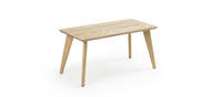 Prose Free-Standing Coffee Table - Clear over Ash