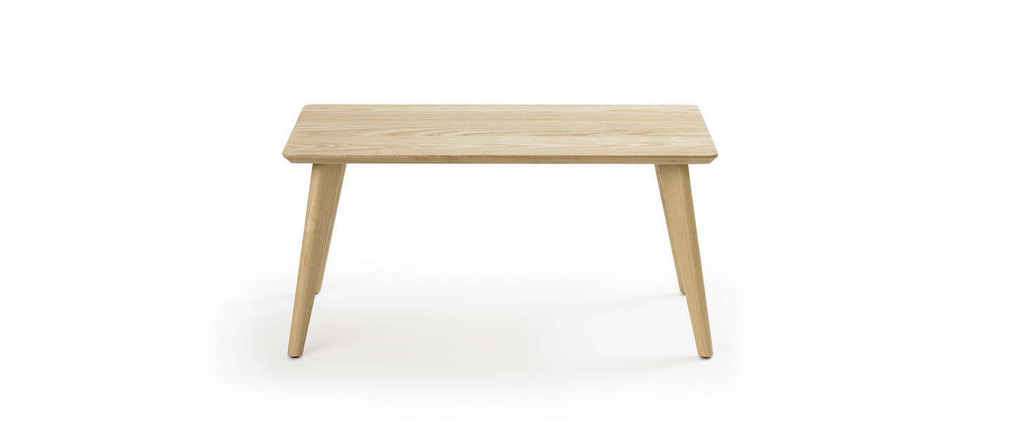 Prose Free Standing Coffee Table - Clear over Ash