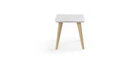 Prose Free-Standing End Table - Quartz Top