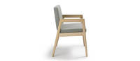 Prose Plus Chair - Clear over Ash