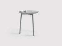 Chord Personal Table - Silver and Gray
